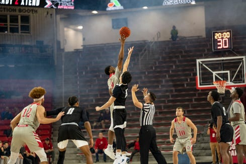 South Dakota defeated York College 83-58 on Wednesday night at the SCSC.