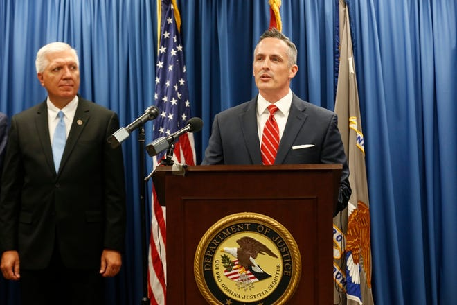 Tim Garrison, U.S. Attorney for the Western District of Missouri, announced Thursday, Nov. 8, 2018, that Kenneth Scott McKee, the captain of the duck boat that sank in July 2018, faces 17 indictments.