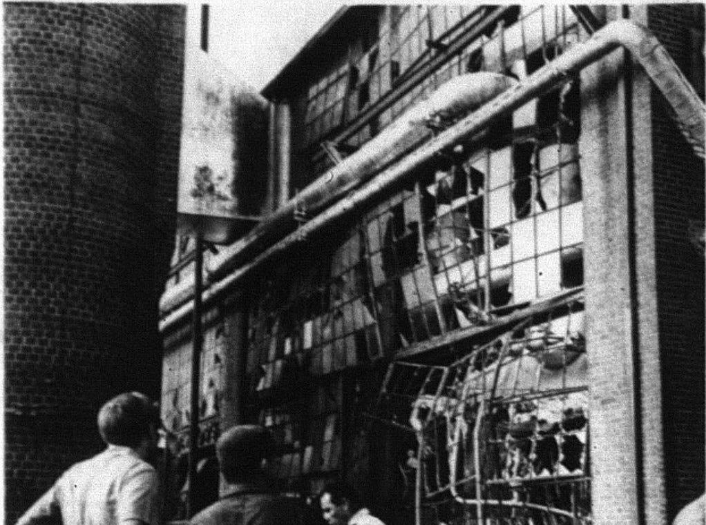 1971 Waynesboro Crompton explosion was fatal
