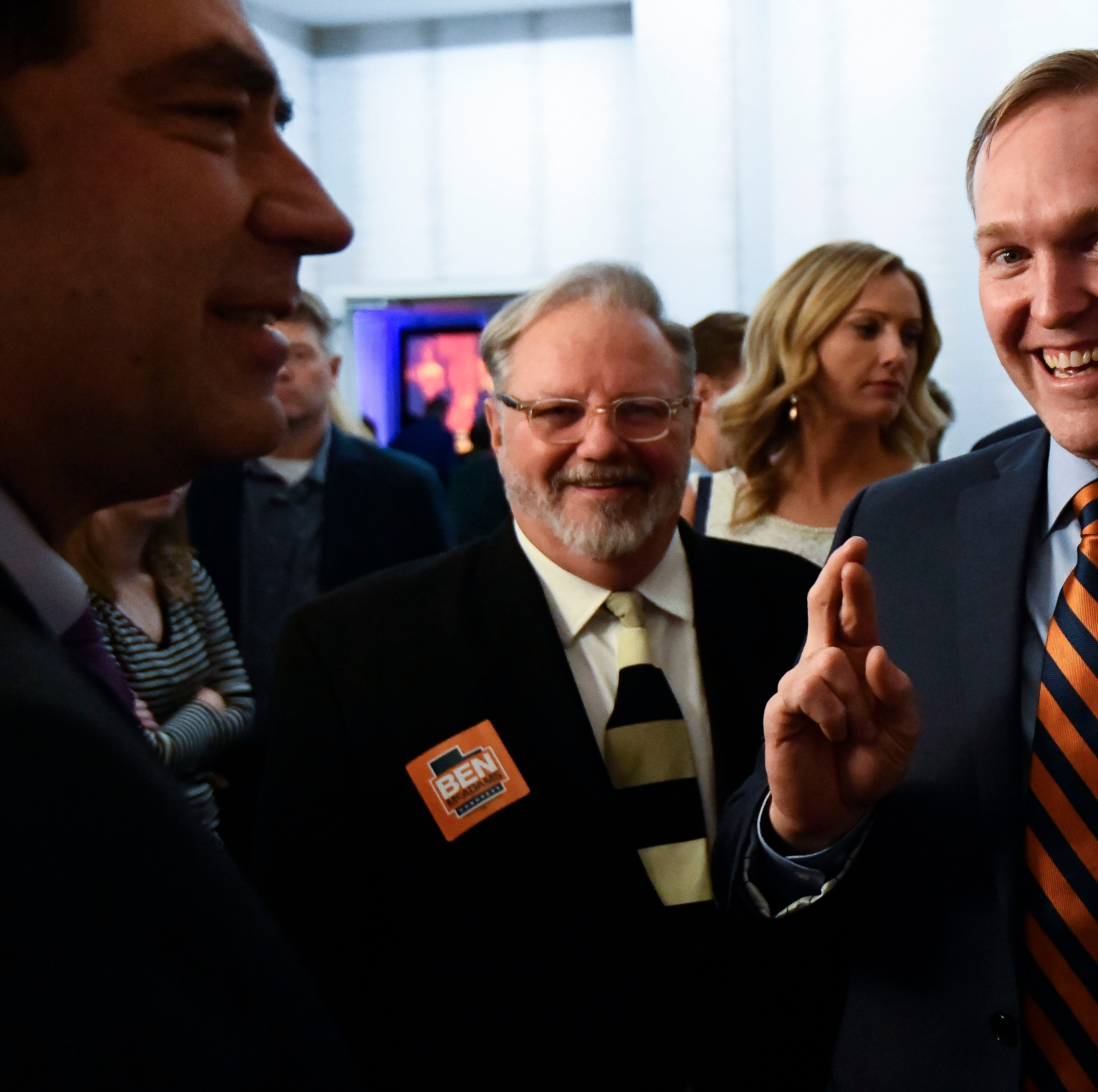 The Latest: Love-McAdams race remains too close to call