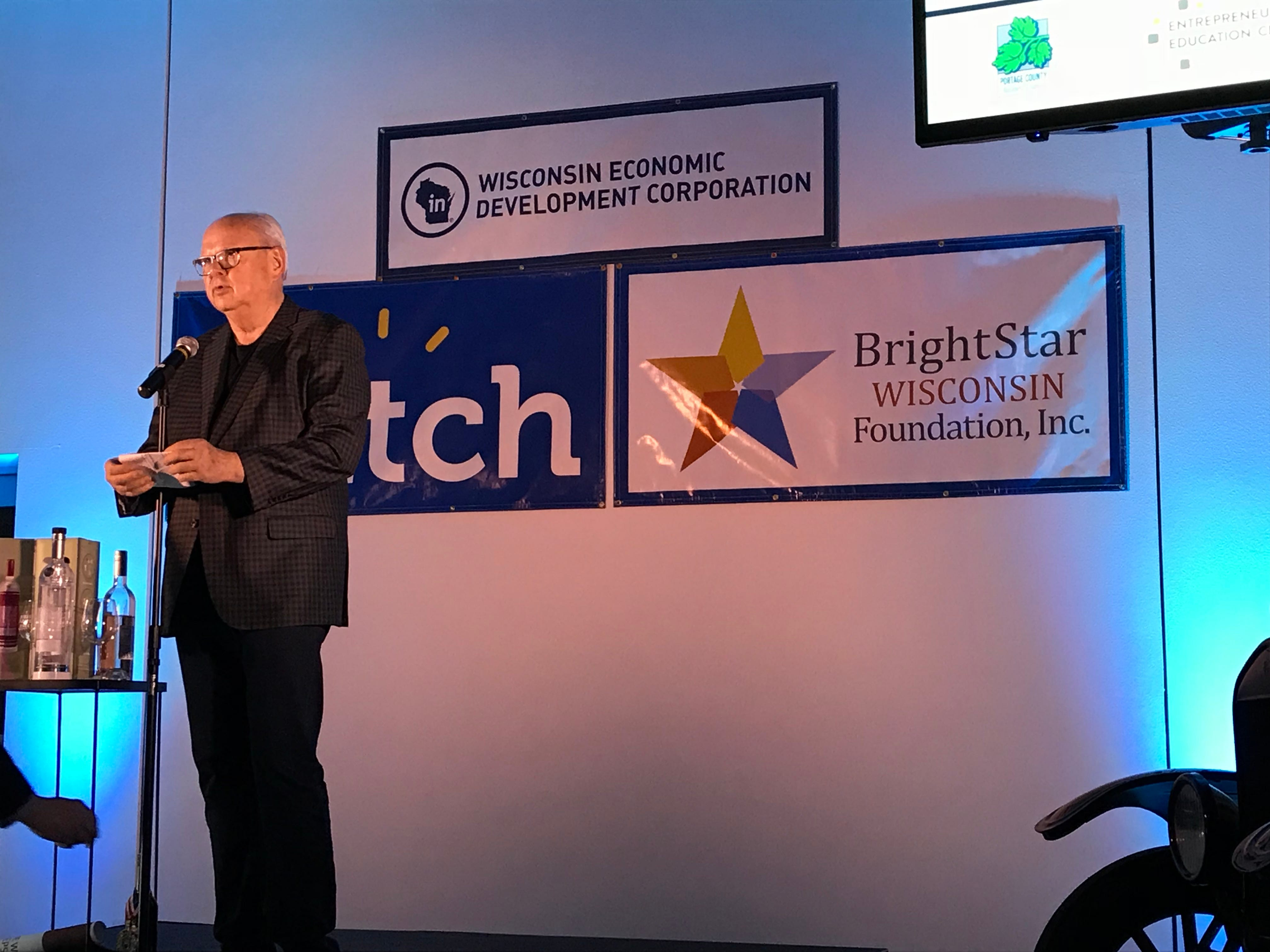 "John Noel, entrepreneur and philanthropist gave entrepreneurs advice ahead of the Hatch competition. ""Do what you can to give back and make the world better,"" Noel said."