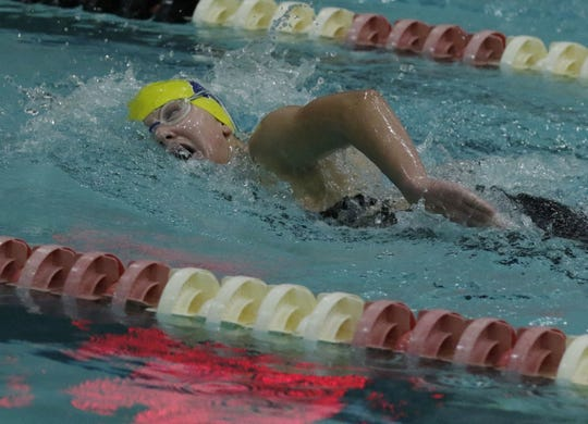 Tomahawk's Kylee Theiler set a program record in the 200 and 500 freestyle at sectionals and will swim in both events in Division 2 competition at the WIAA state girls swim meet this weekend in Madison.