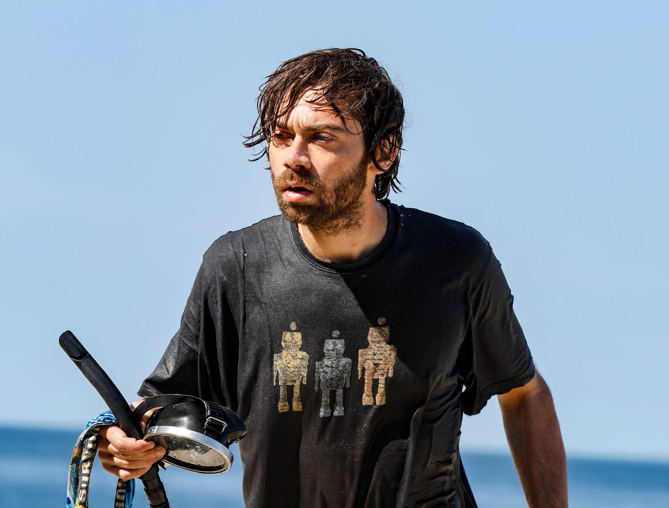 """There's Gonna Be Tears Shed"":  FAMU-FSU robotics professor Christian Hubicki competes on ""Survivor: David vs. Goliath."""