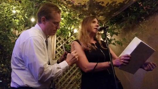 Tallahassee's Poet Laureate Reading Series holds events once a month.