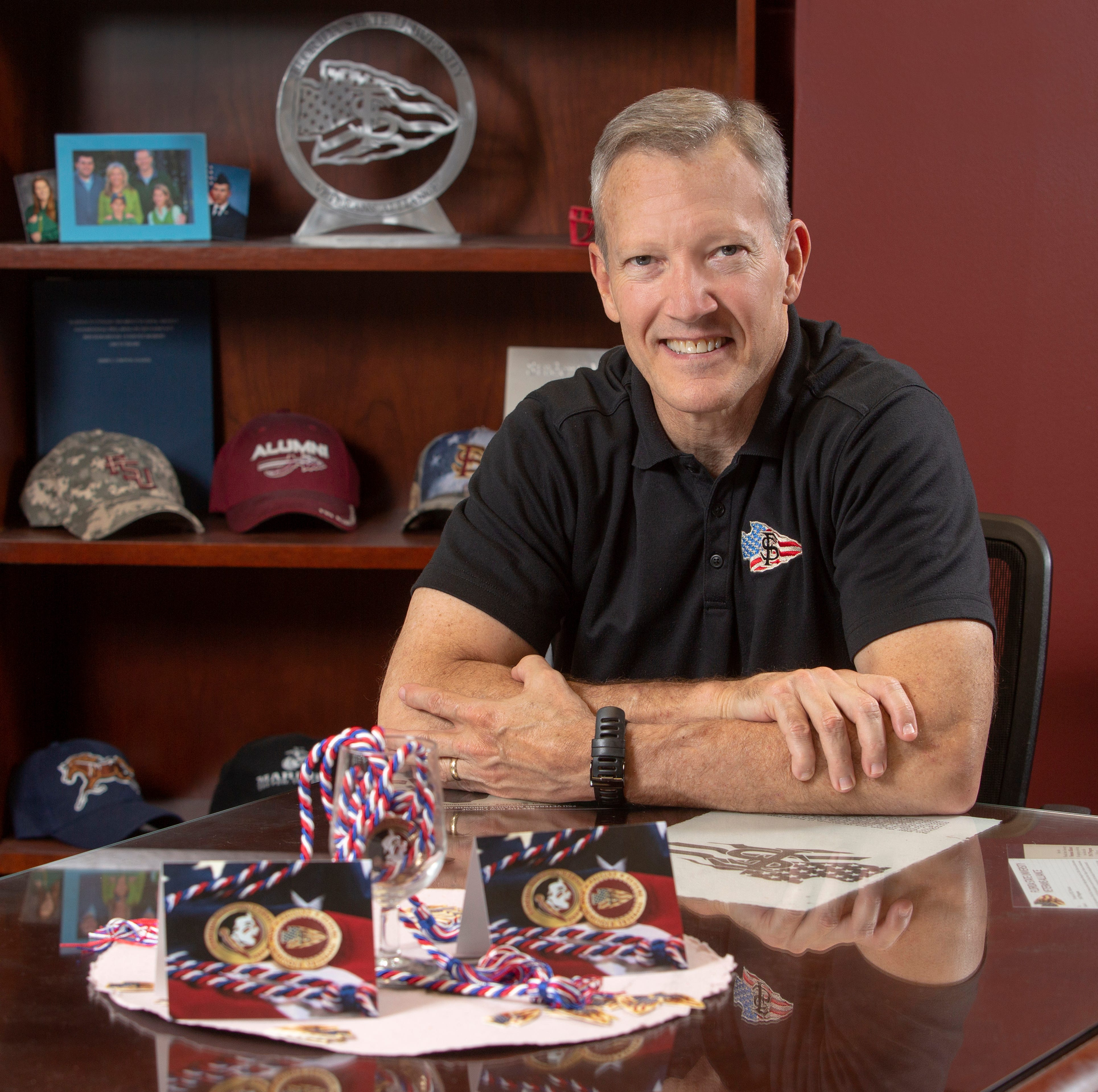 FSU's Billy Francis helps student-veterans soar to new heights