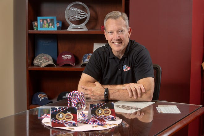 """William """"Billy"""" Francis leads Florida State University's Student Veterans Center."""