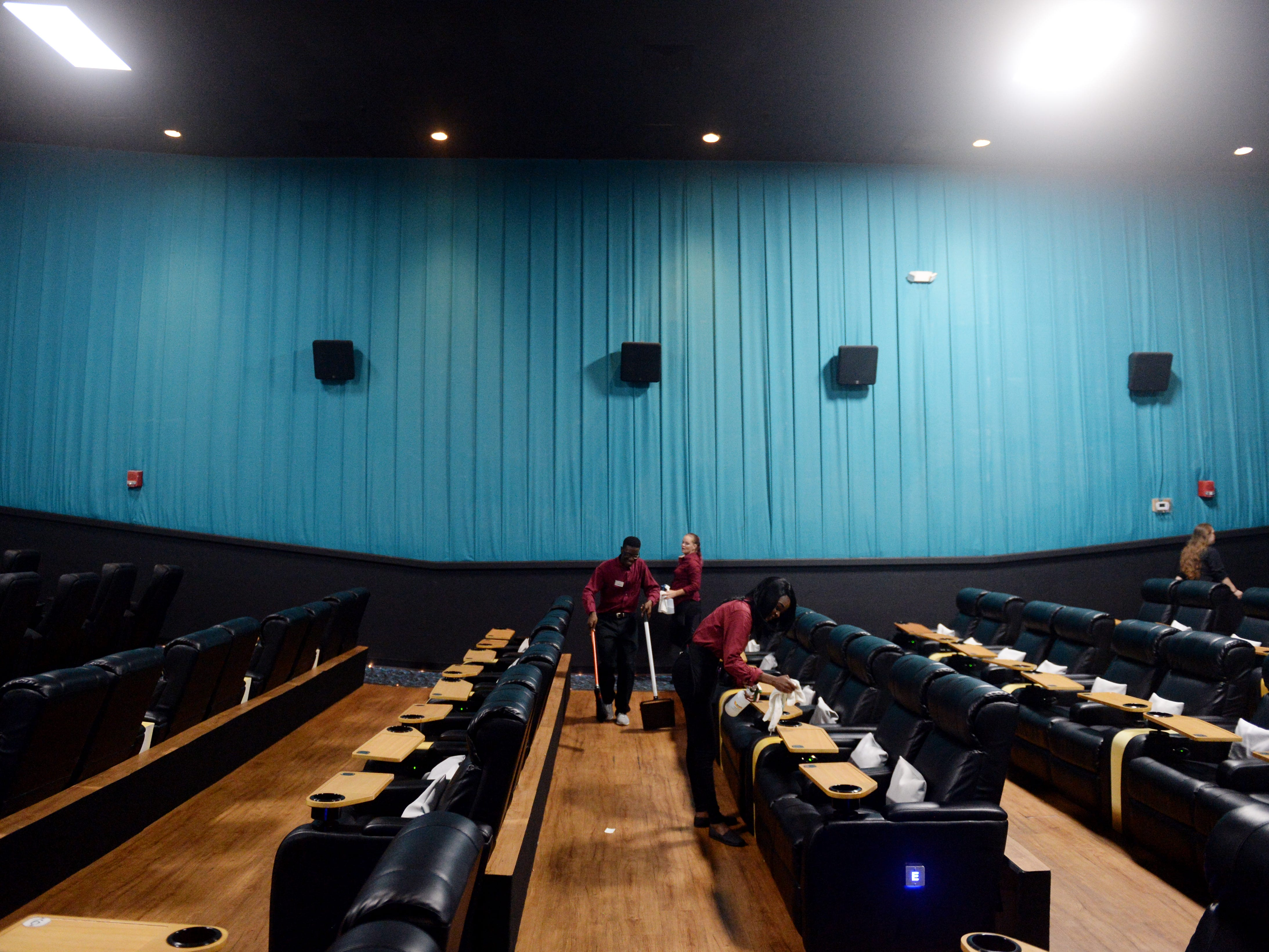 Added amenities like reclining seats, food options beyond candy and popcorn and a full bar sets Touchstar Cinemas Sabal Palms Luxury 6 in Fort Pierce apart from other Treasure Coast theaters. Employees will even deliver your food and drinks straight to your chair.