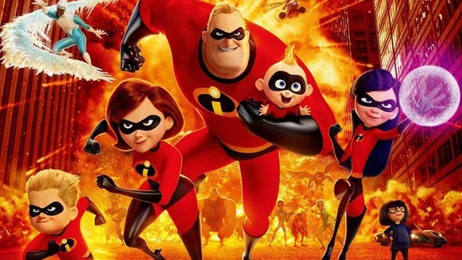 """Catch the """"Incredibles 2"""" at the Hurston Library Nov. 21."""