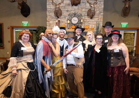 From left, Donna Vestal, Charles Jones, Shelley Keelor, Mike Banas, Luke Donia, Joey Hedrick, Chanda Albritton, Emily Gray, Ed Ciampi, Linda Weiksnar.