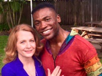 Jennifer Patty and Jamari Johnson Williams together again in Vero Beach.