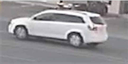 Security camera image of vehicle used in Oct. 22 robbery spree in Central El Paso and the Lower Valley.