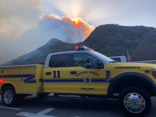 Hill Fire Truck