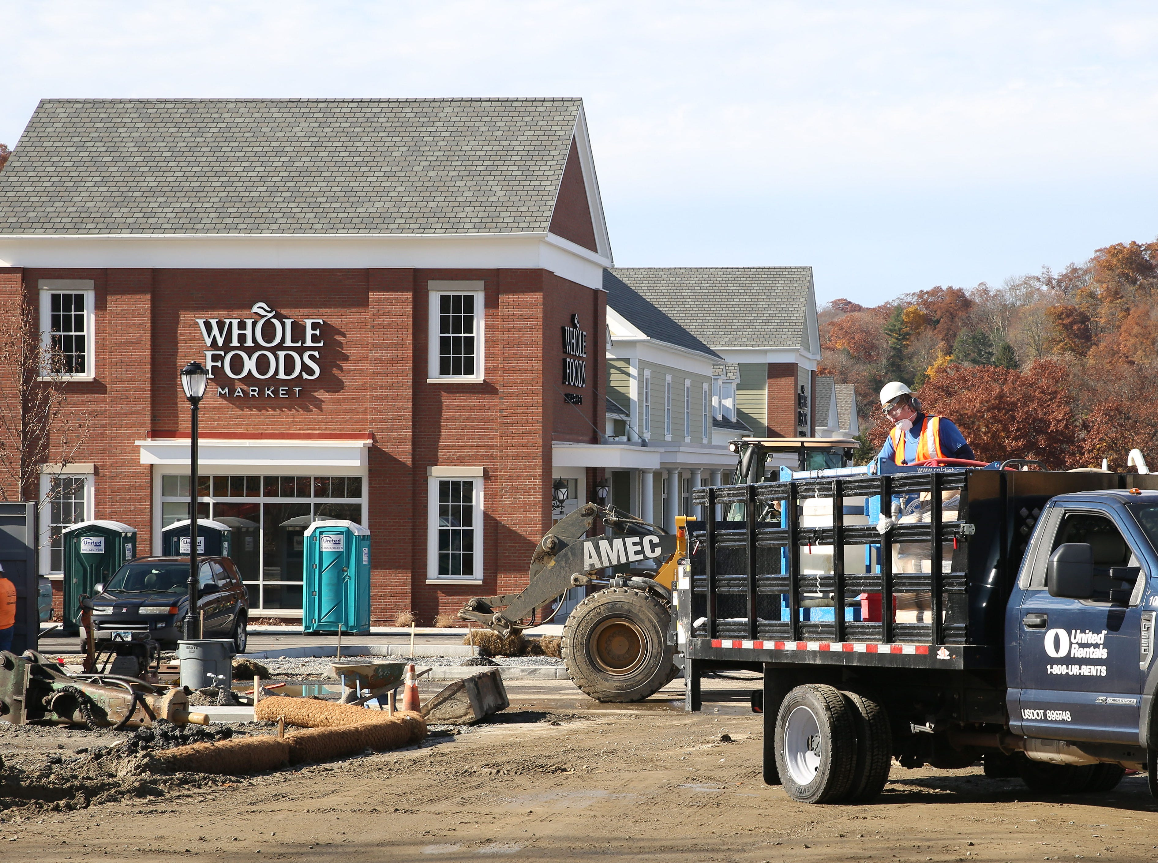 Whole Foods and other businessess will open Chappaqua Crossing in Chappaqua Nov. 7,  2018.