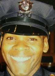 Heart transplant patient and Bridgeport, Conn. police officer Jay Mathews-Dixon.