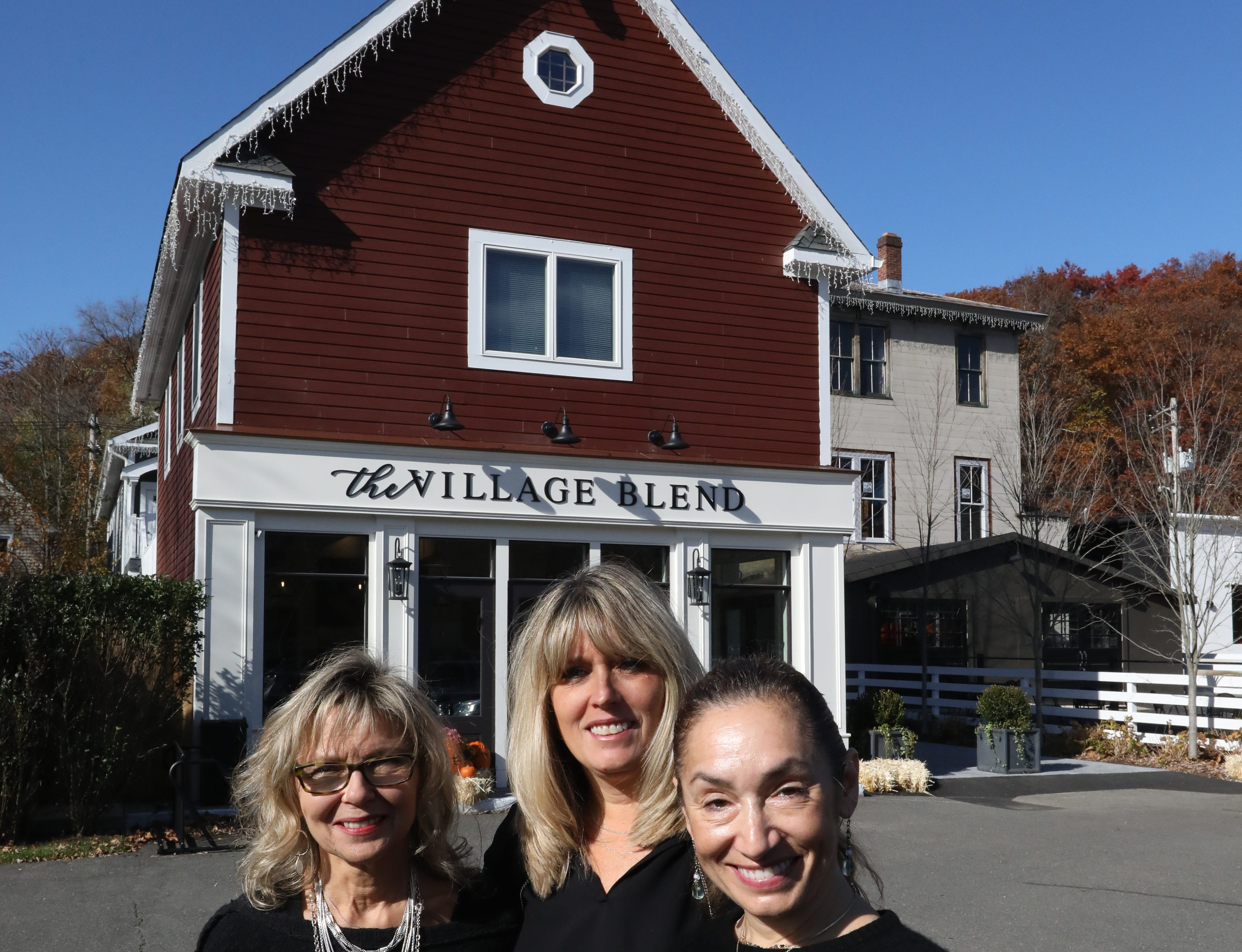 Barbara Berntsen, Nicole Scanlon and Cindy-Sass Garcia are the owners of the Village Blend Cafe in Sloatsburg Nov. 8, 2018.