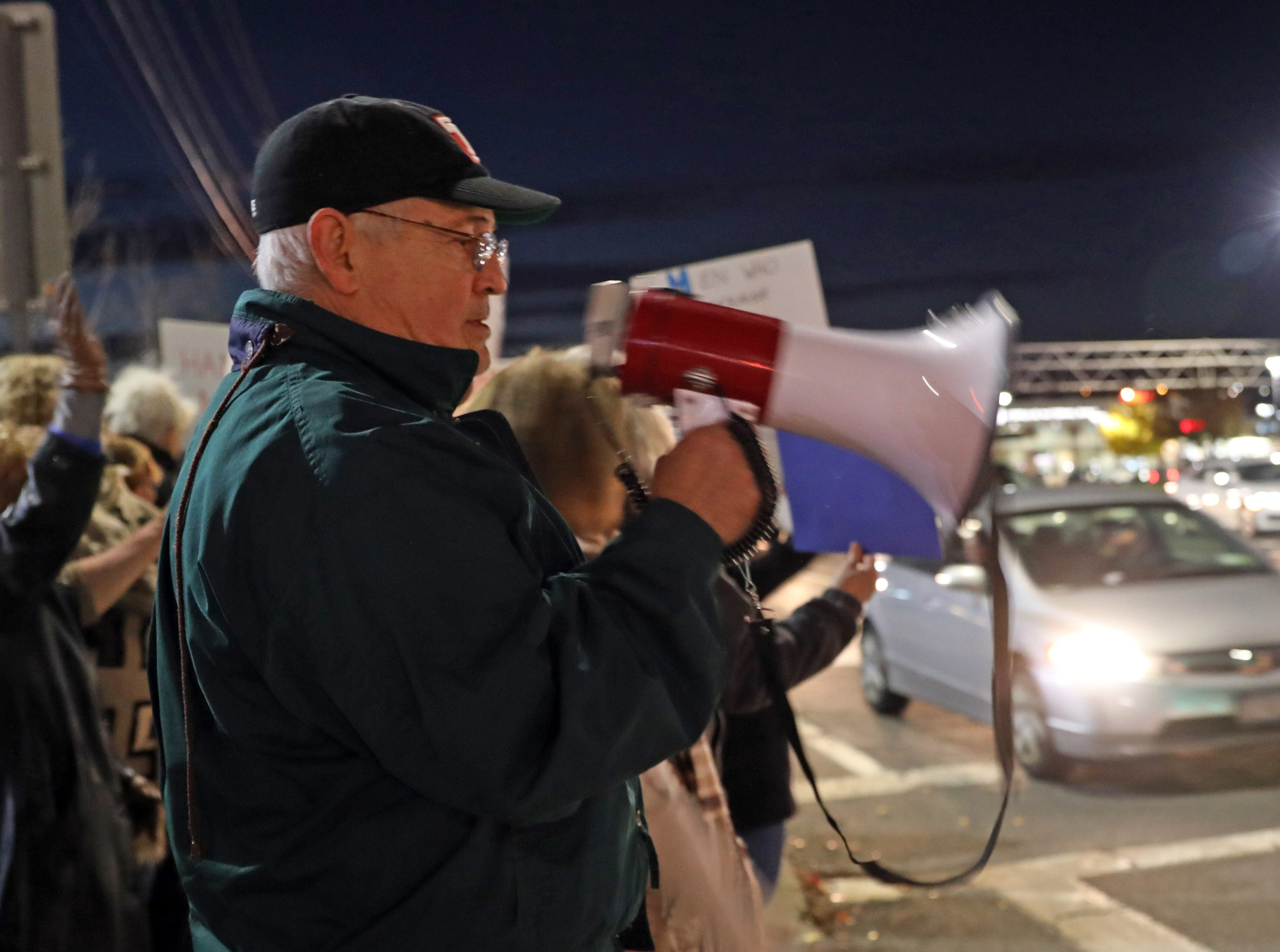 Greg Julian of Stony Point rallys for the protection of Robert Mueller's investigation on Route 59 in Nanuet Nov. 8, 2018. In the wake of U.S. Attorney General Jeff Sessions being fired on Wednesday Local Residents gather to rally for the protection of Robert Mueller's investigation.