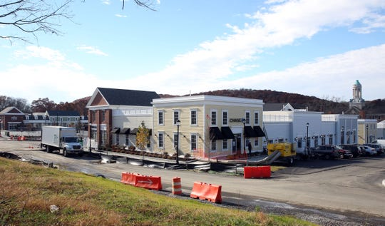 Work is almost complete at Chappaqua Crossing in Chappaqua Nov. 7,  2018.