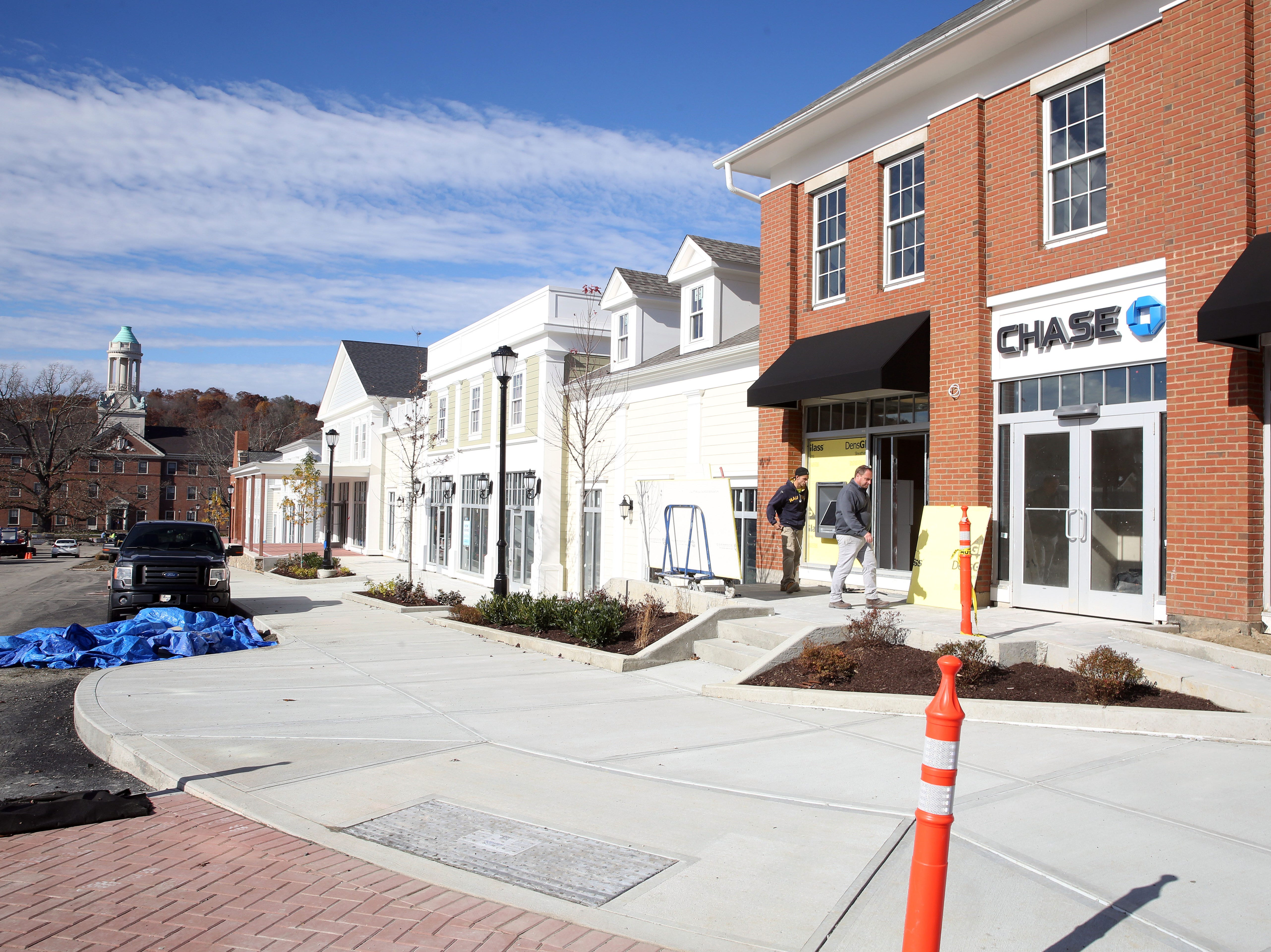 Chase Bank and other businessess will open Chappaqua Crossing in Chappaqua Nov. 7,  2018.