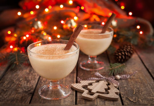 Eggnog made by local producers, such as Lewes Dairy, can be found in grocery stores before Thanksgiving.