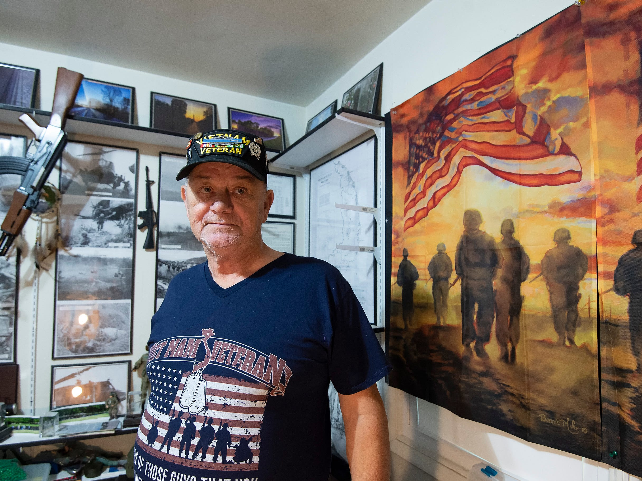 Wilmington veteran's mission is to take 'brothers and sisters' to final resting place
