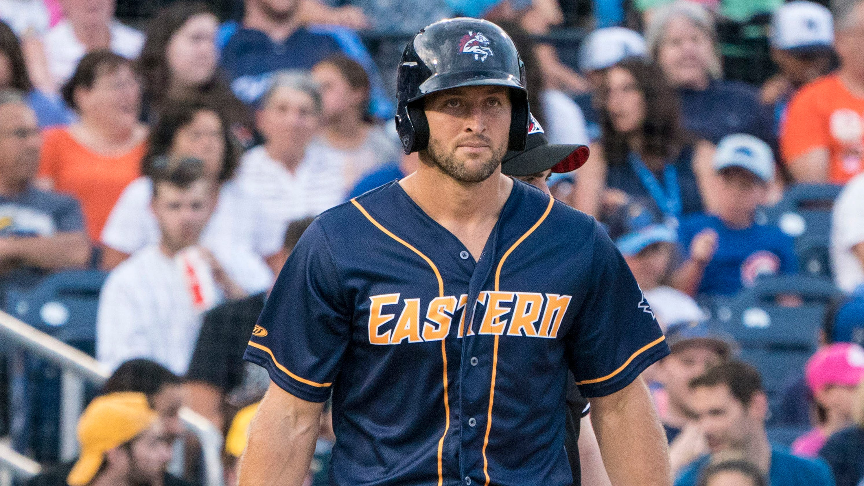 half off e7b56 0e88b Tim Tebow: Mets GM says former NFL QB earned promotion to ...