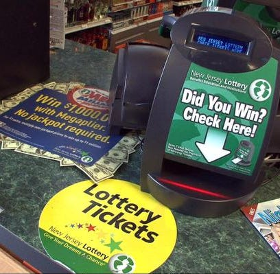 NJ Lottery: Lakehurst Mega Millions ticket wins $1M