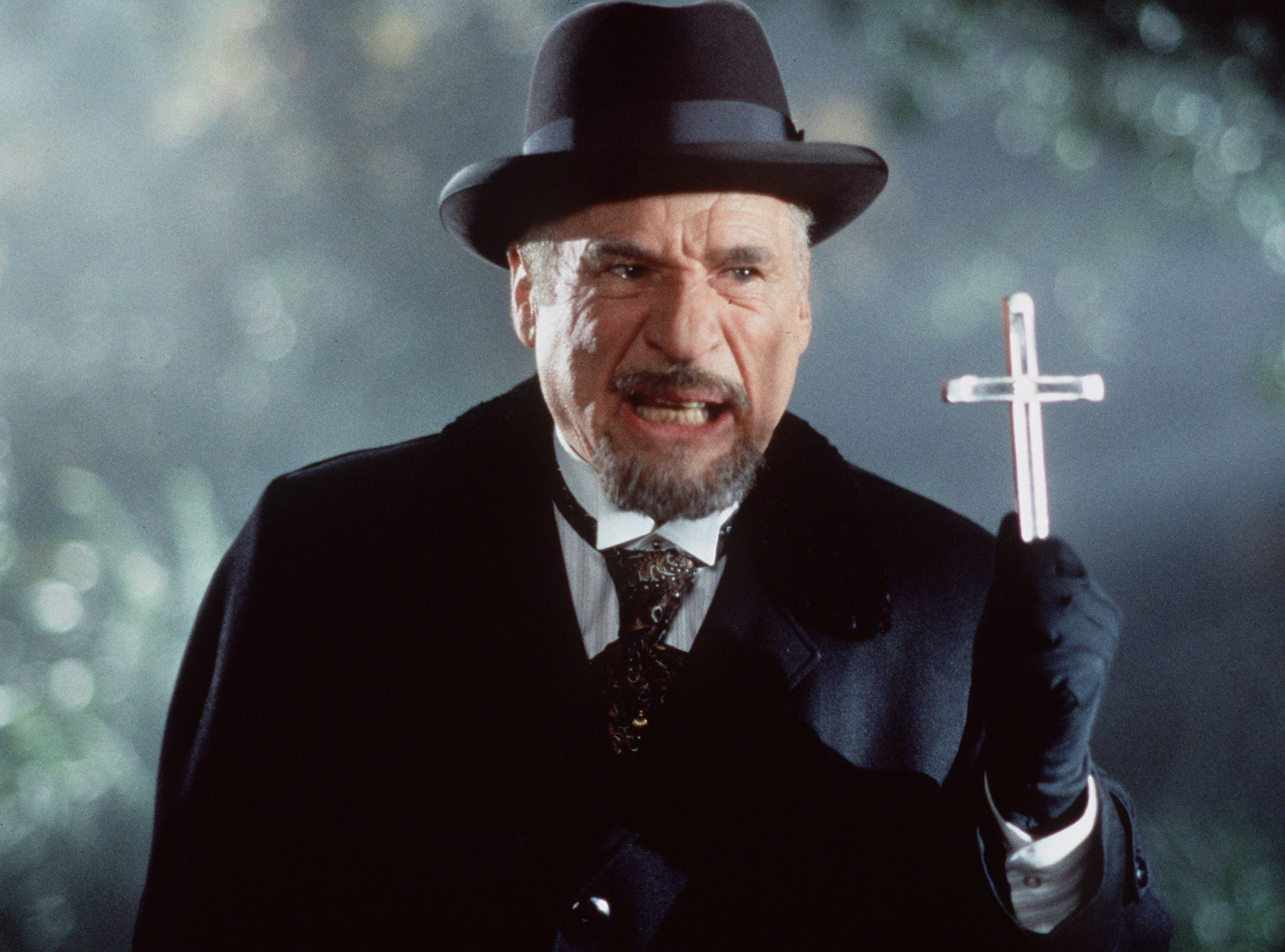1995  -  Mel Brooks in  Dracula: Dead and Loving It