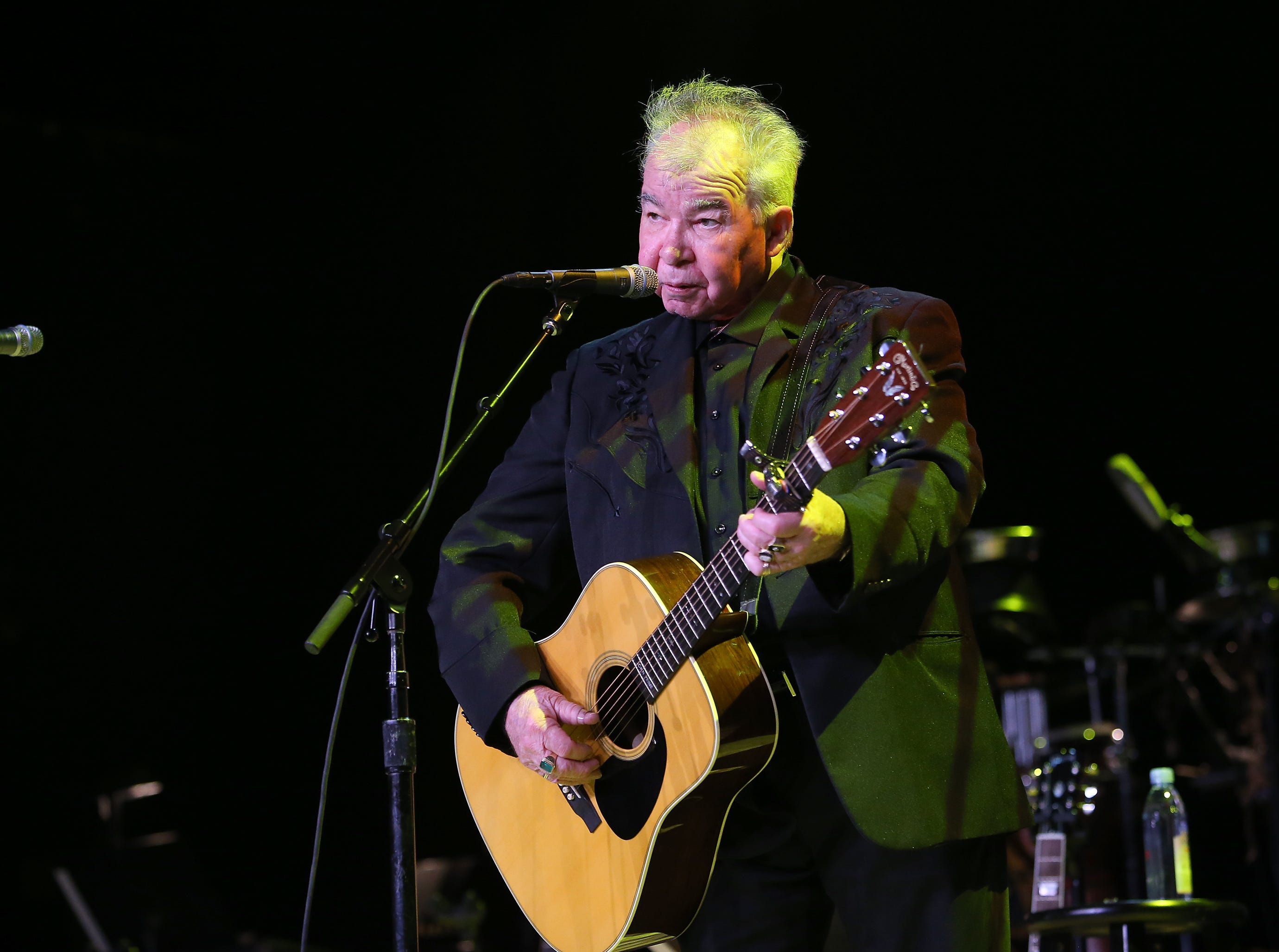 LOS ANGELES, CA - OCTOBER 19:  John Prine performs at 'Across The Great Divide' benefit concert presented by UpperWest Music Group at Ace Theater Downtown LA on October 19, 2018 in Los Angeles, California.  (Photo by Jesse Grant/Getty Images for Across the Great Divide) ORG XMIT: 775245173 ORIG FILE ID: 1052610084