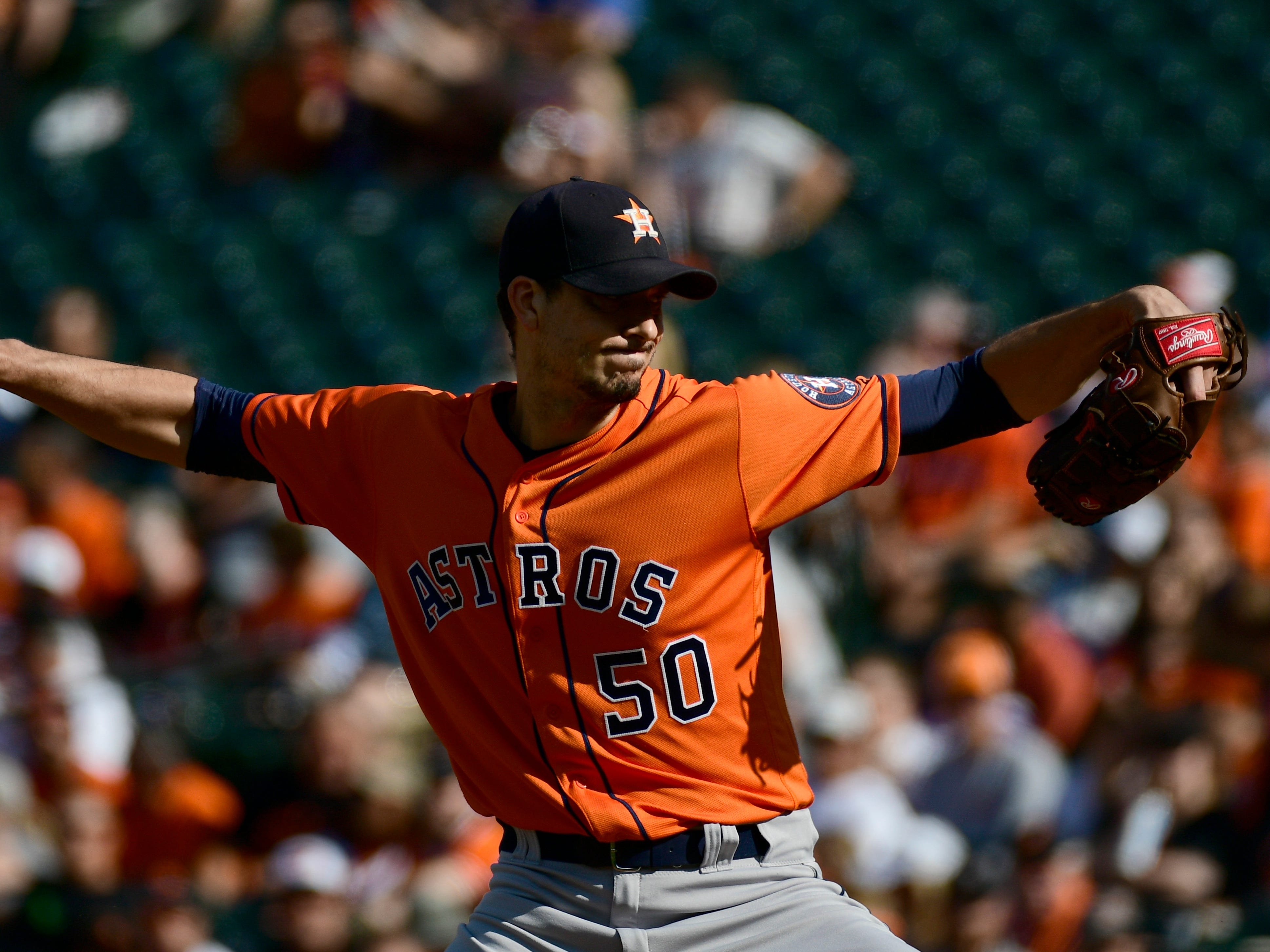 Charlie Morton (35, RHP, Astros) – signed with Rays, 2 years/$30 million