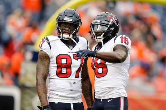 Nfl Houston Texans At Denver Broncos
