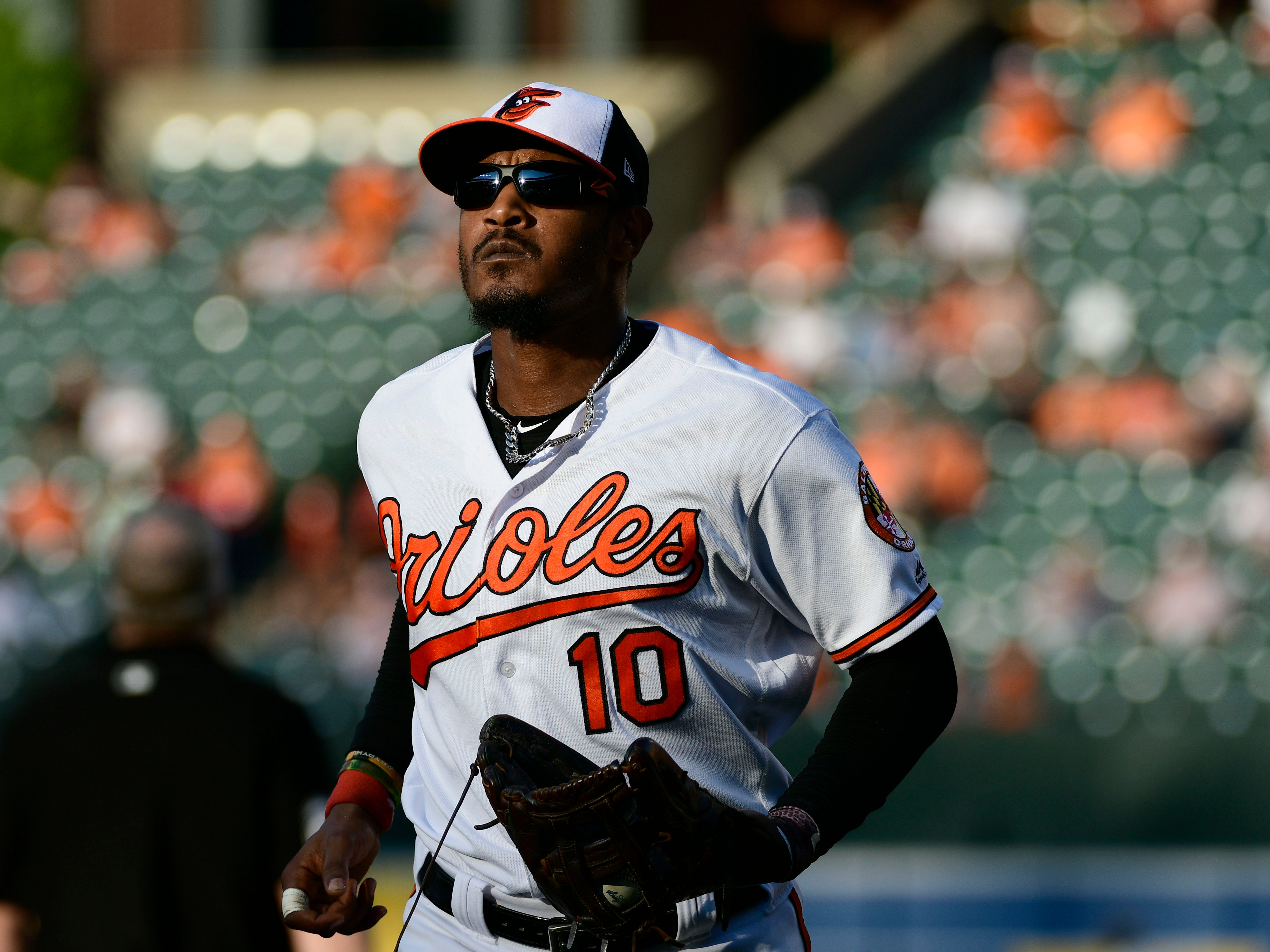Adam Jones (33, OF, Orioles)