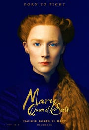 """Saoirse Ronan plays Elizabeth's redheaded cousin Mary Stuart in """"Mary Queen of Scots."""""""