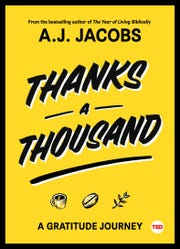 """Thanks a Thousand"" by A.J. Jacobs"