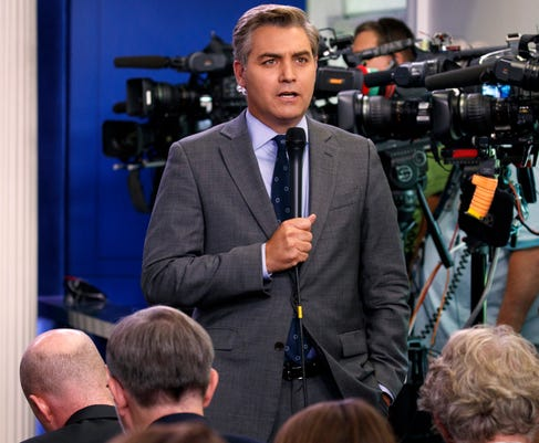Jim Acosta CNN White House