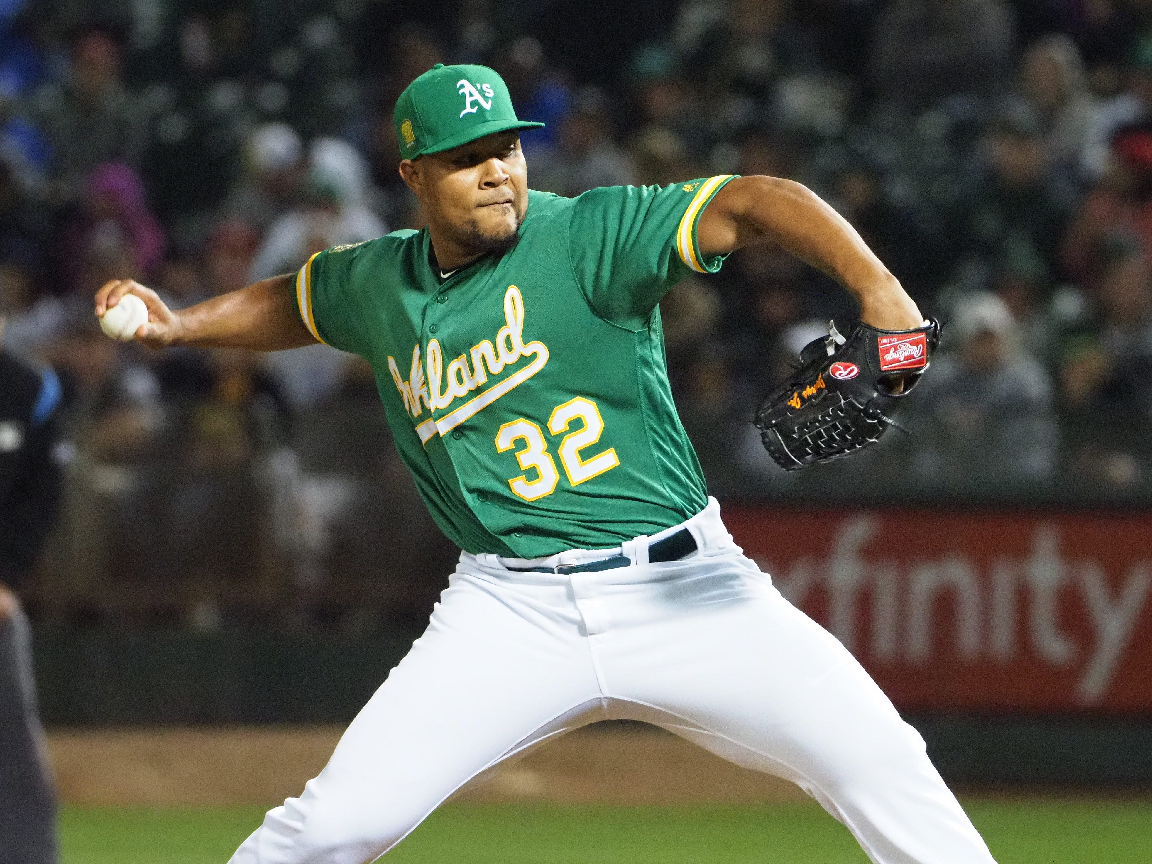Jeurys Familia (29, RHP, Athletics) – signed with Mets, 3 years/$30 million
