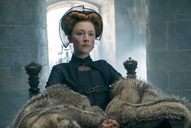 """Saoirse Ronan plays Mary Stuart, Queen Elizabeth's cousin, in """"Mary Queen of Scots."""""""