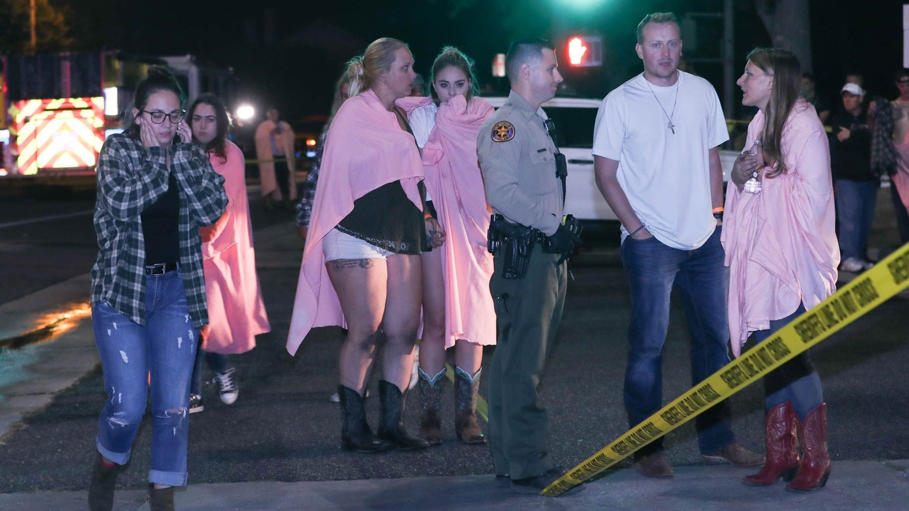 Thousand Oaks shooting...