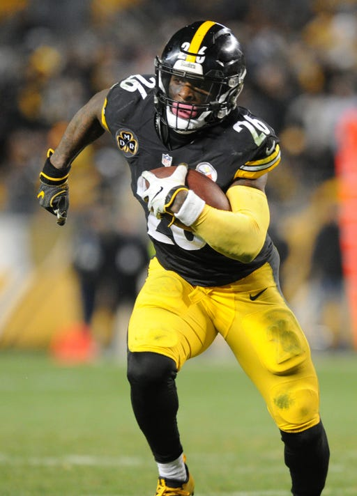 f25c4a05927 Nfl Baltimore Ravens At Pittsburgh Steelers. Pittsburgh Steelers running  back Le Veon Bell ...