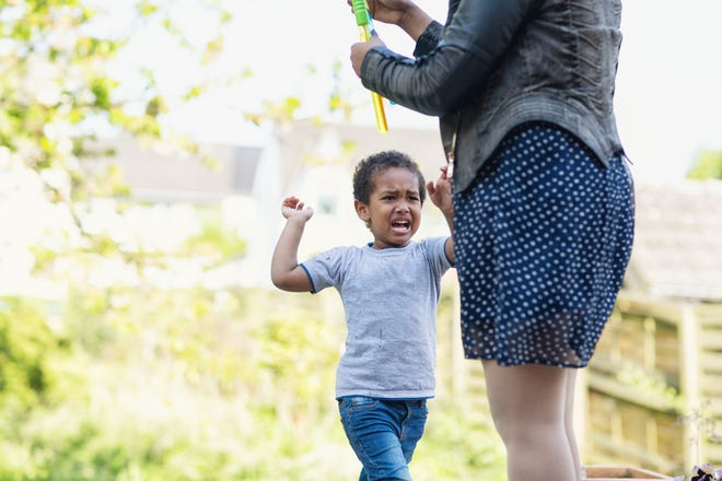 As young children develop independence, they can easily grow frustrated because they don't always know how to communicate their feelings or how to think and act rationally.