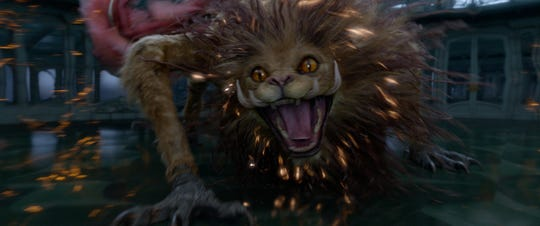 "The Zouwu is large and in charge as one of the new ""Fantastic Beasts"" critters."