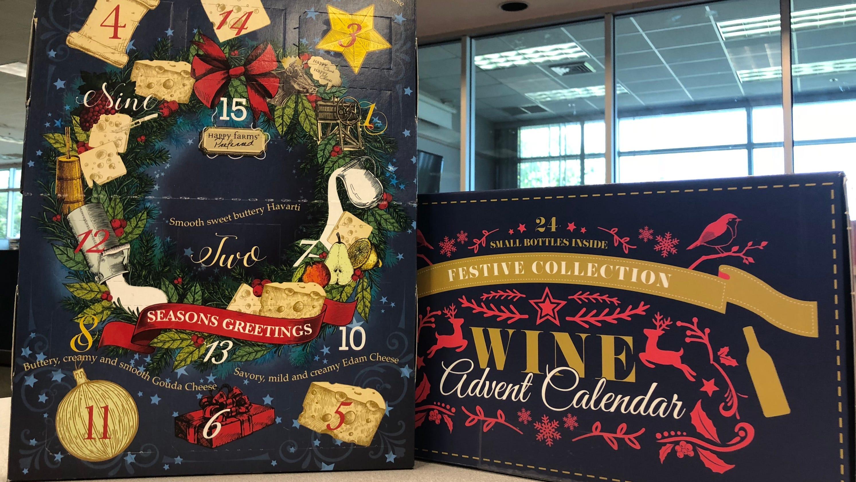 Aldi Cheese Advent Calendar.Aldi Advent Wine Calendar Sells Quick Where To Find Others