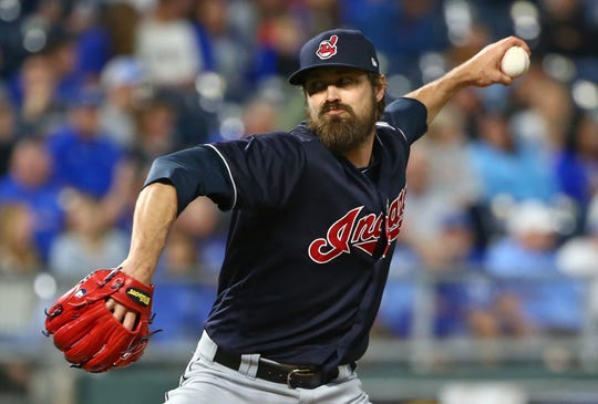Andrew Miller established multiple single-season MLB playoff records for a reliever for Cleveland.