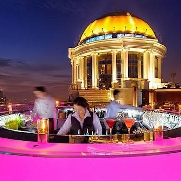 Drinks with a view: Bangkok's stunning rooftop bars