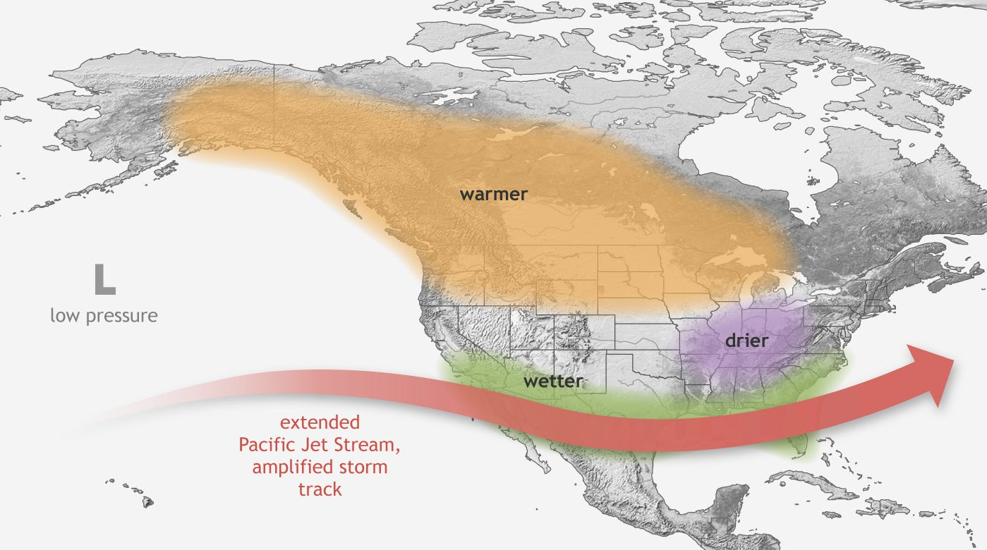 El Niños to strengthen because of global warming, will cause 'more extreme weather', study says