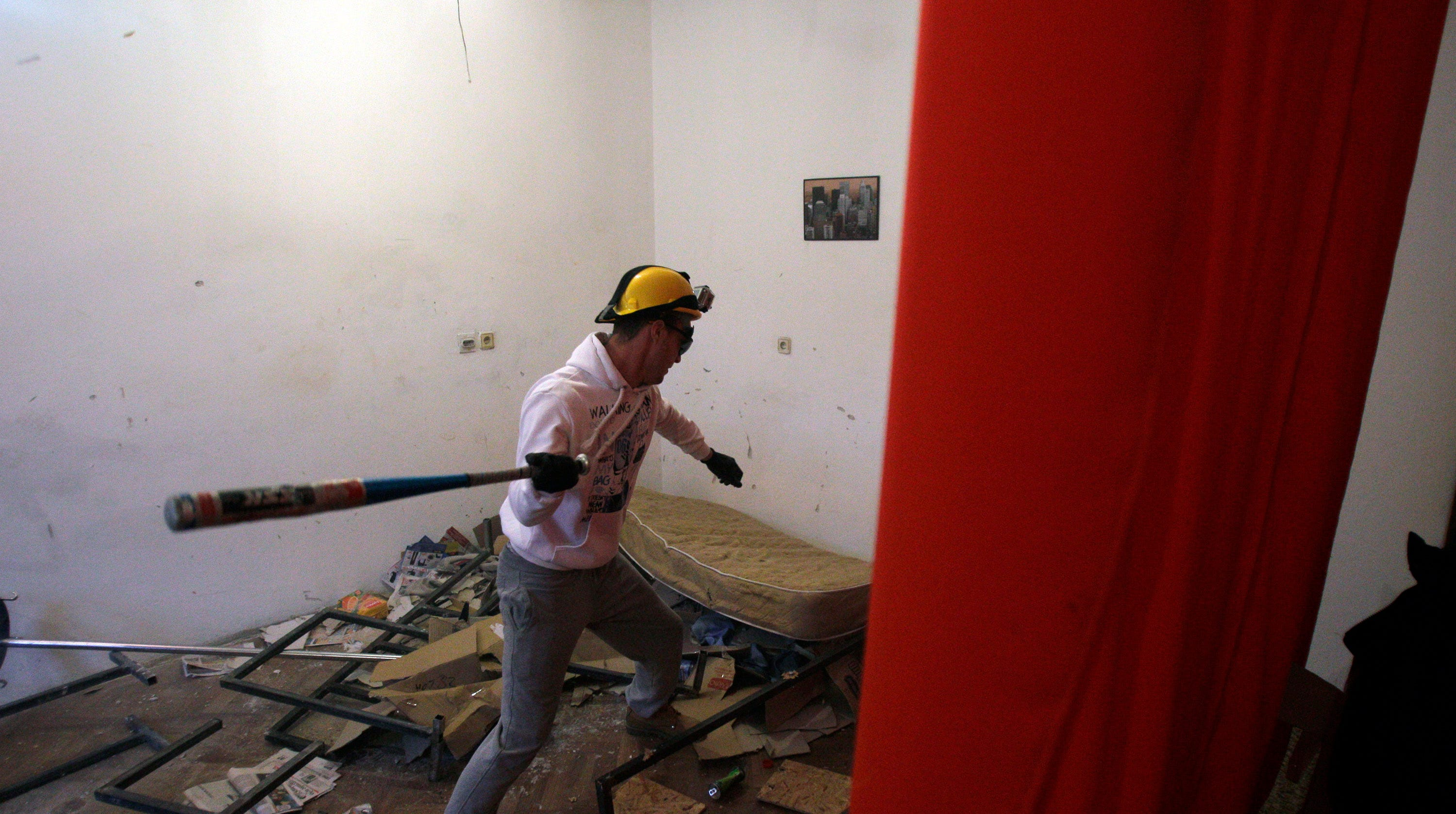 Rage rooms: Why recreational smashing could be good for your mental health