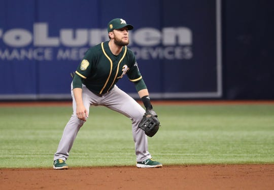 Jed Lowrie (34, 2B, Athletics) – signed two years/$20 million with Mets