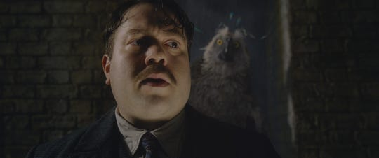 "New animal friends await Jacob Kowalski (Dan Fogler) in ""Fantastic Beasts: The Crimes of Grindelwald."""