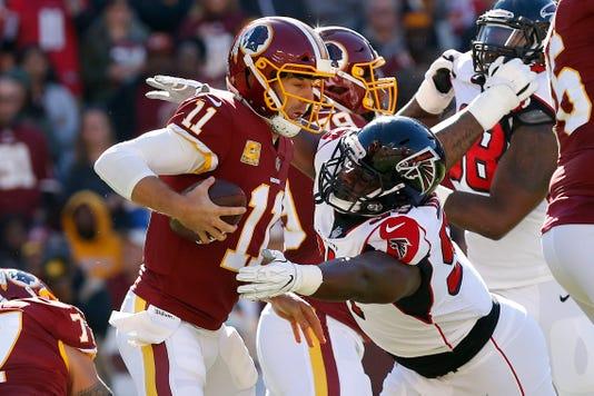 Nfl Atlanta Falcons At Washington Redskins
