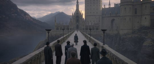 "The new ""Fantastic Beasts"" film revisits the hallowed halls of Hogwarts from the ""Harry Potter"" films."