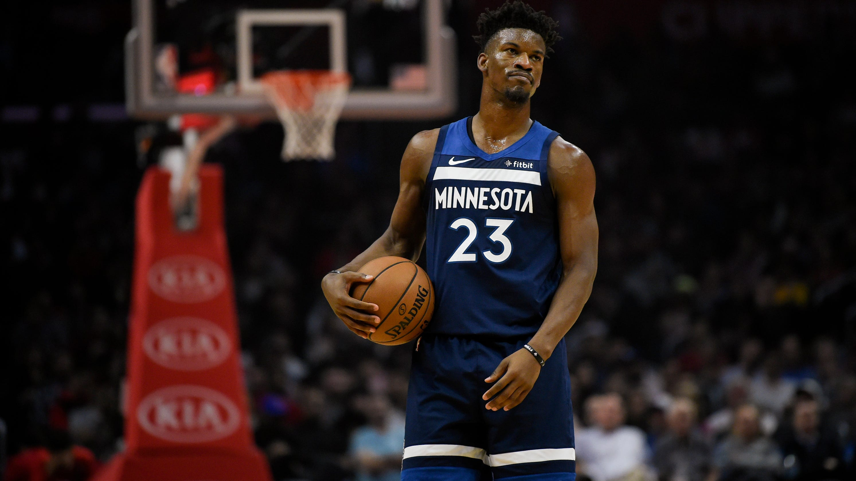 fca332d3cf1 Frustrated Jimmy Butler sounds off on Minnesota Timberwolves  poor start